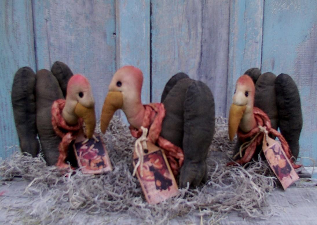 Buzzard Tucks Halloween / Fall Pattern