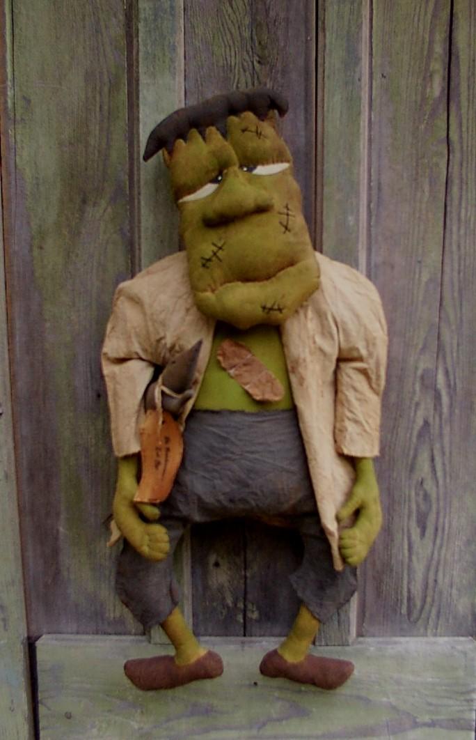 Dr. Frankenstein Halloween / Fall Pattern