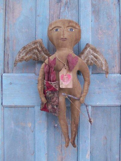 Prim 'n Folksy CHERUB Angel Pattern