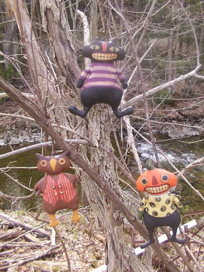 Halloween Greetings Halloween / Fall Pattern