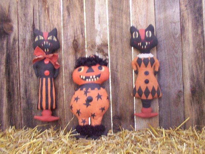 Merrie Halloween / Fall Pattern