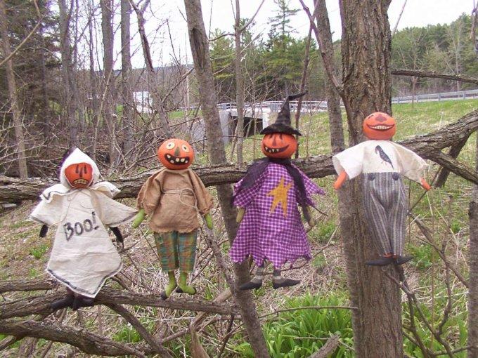 The Pumpkin Heads Halloween / Fall Pattern