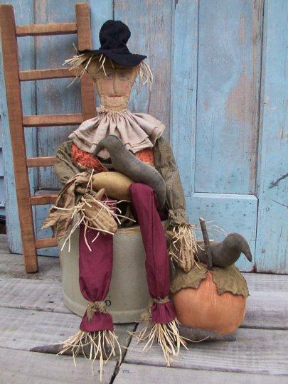 Farmers Scarecrow Halloween / Fall Pattern