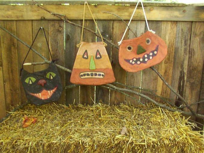 Trick or Treat Totters Halloween / Fall Pattern