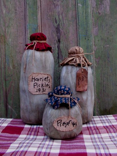 Grubby Pantry Jars Pattern