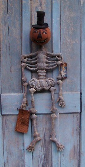 Mortimer P. Bones Halloween / Fall Pattern
