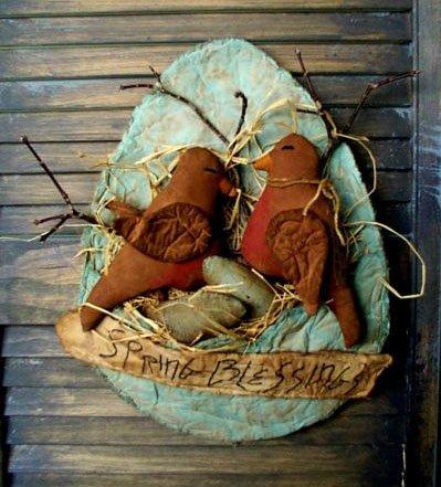 Robins & Egg Pattern
