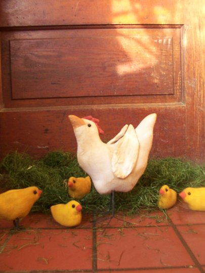 Here a Chick, There a Chick Pattern