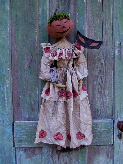 The Masquerade Pumpkin Halloween / Fall Pattern