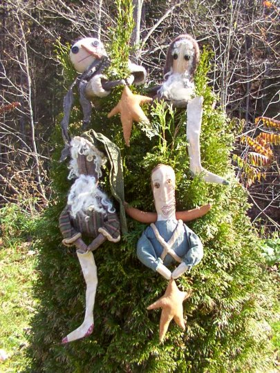 Merrie Tree Toppers Pattern