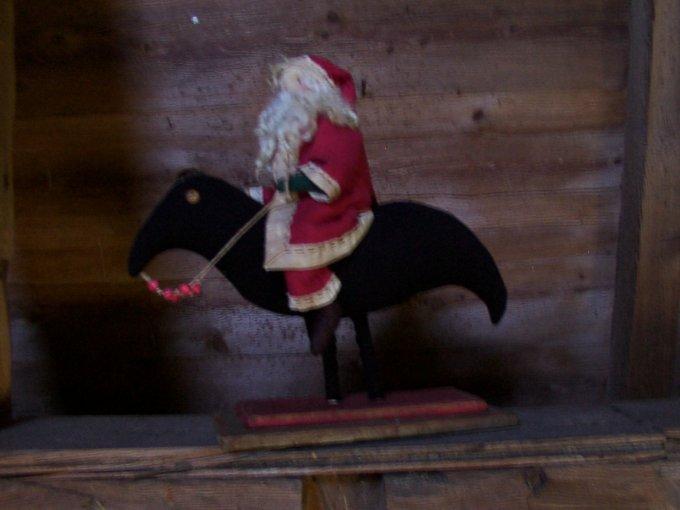 Santa's Midnight Ride Pattern